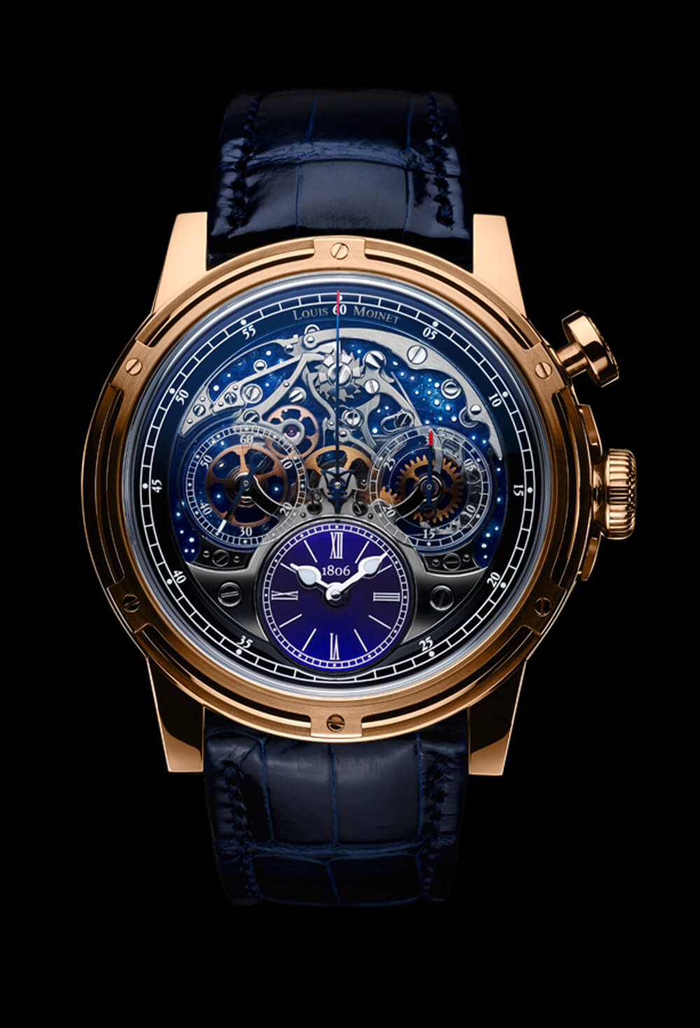 Louis Moinet timepiece created to celebrate 200th anniversary