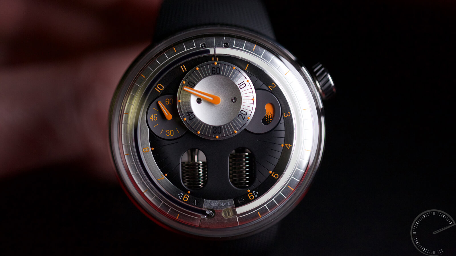 HYT H0 - timepiece with fluidic display