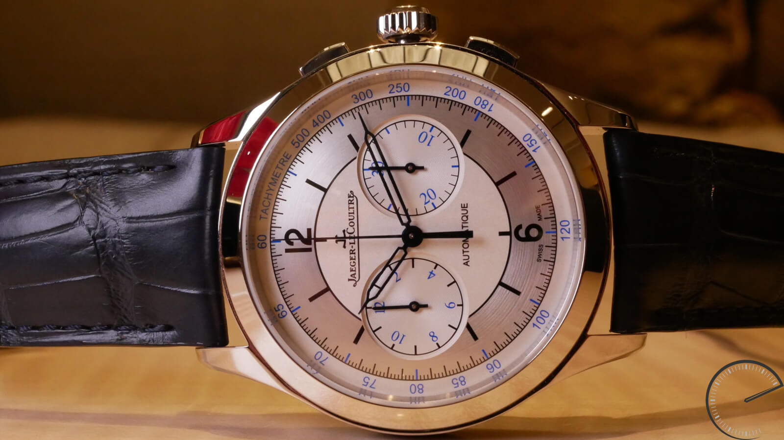 Jaeger-LeCoultre Master Chronograph - timepiece with sector dial
