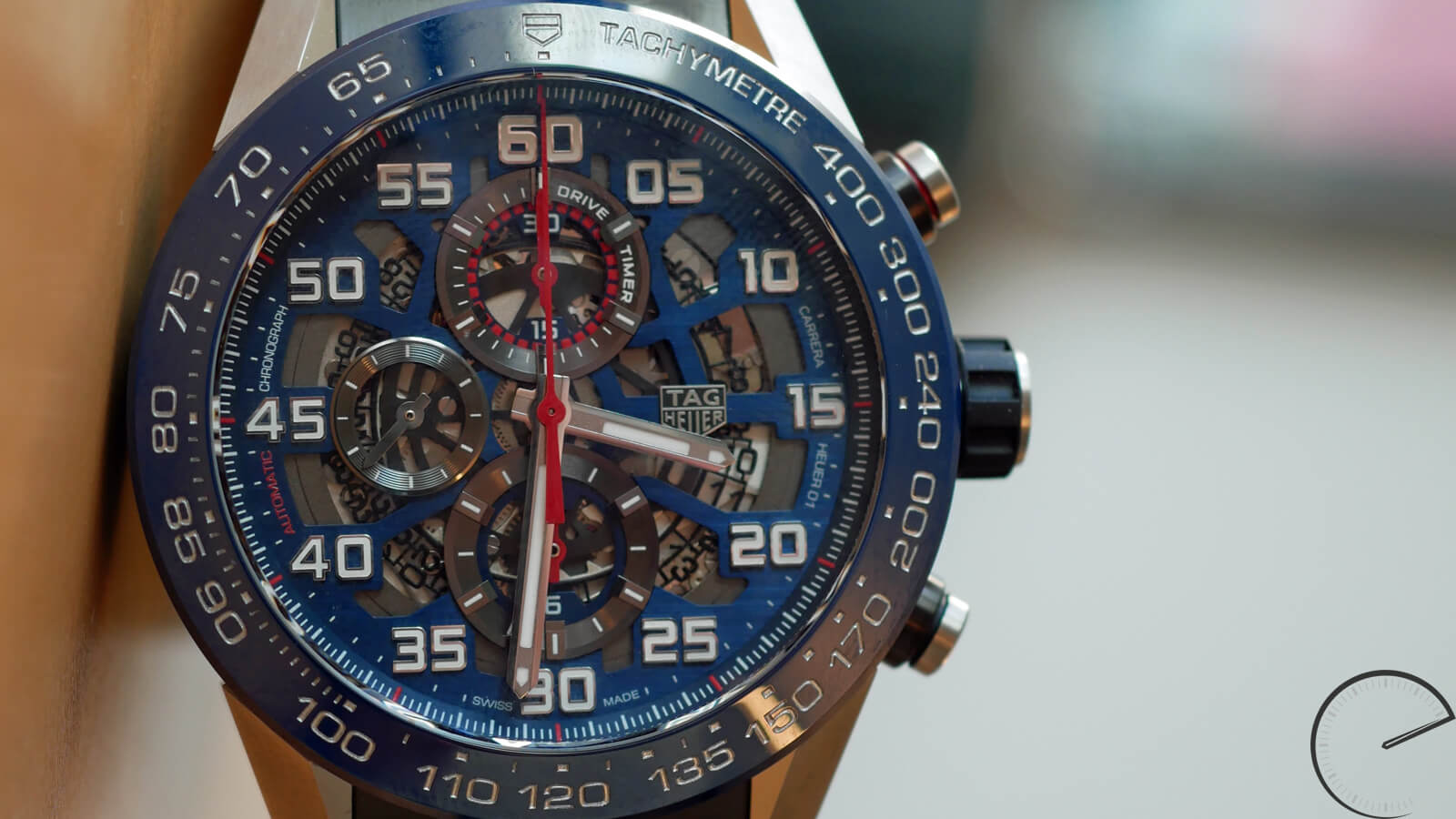 TAG Heuer Carrera Heuer 01 Red Bull Racing Special Edition - automatic Manufacture chronograph with modular construction