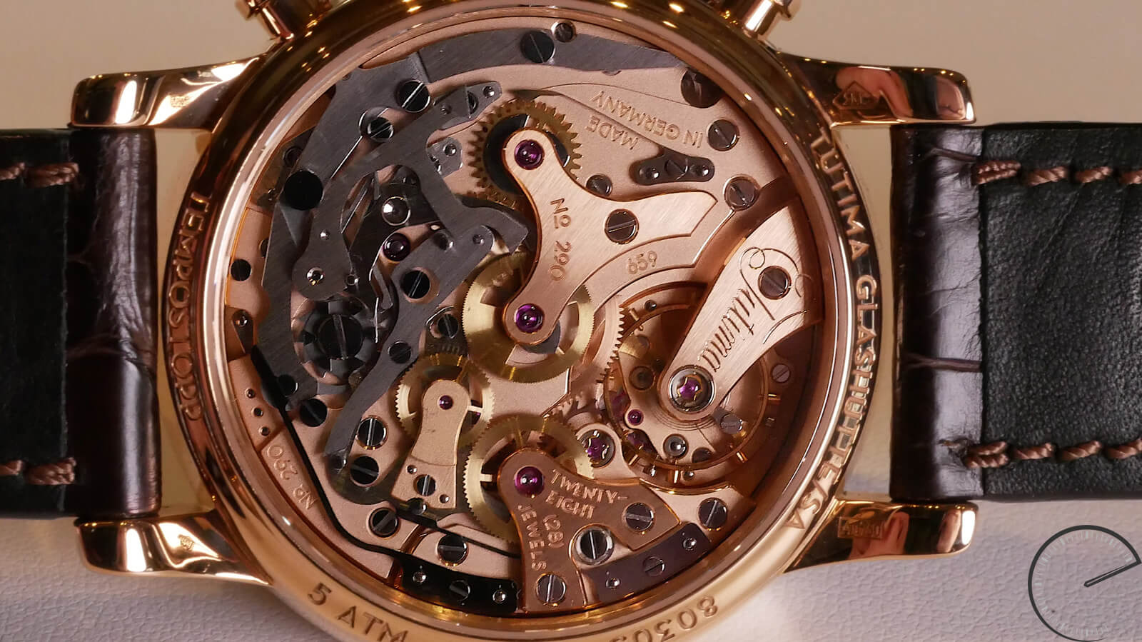 Tutima Tempostopp - fly-back chronograph with hand-wound movement