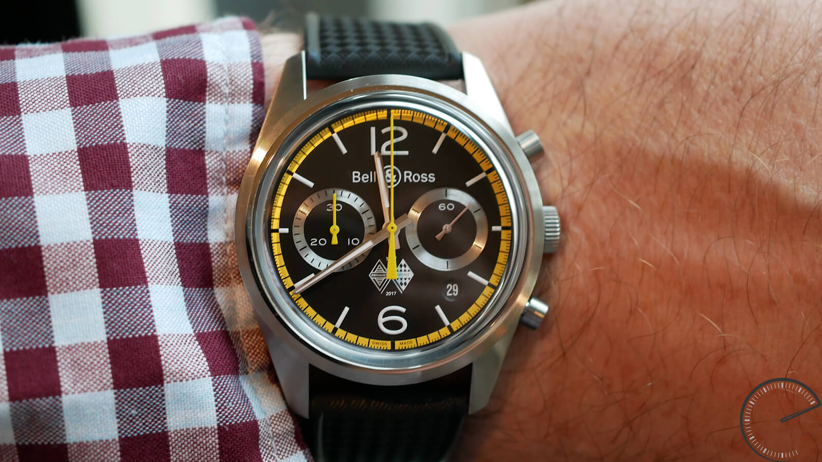 Bell & Ross BR 126 Renault Sport 40th Anniversary - bi-compax chronograph