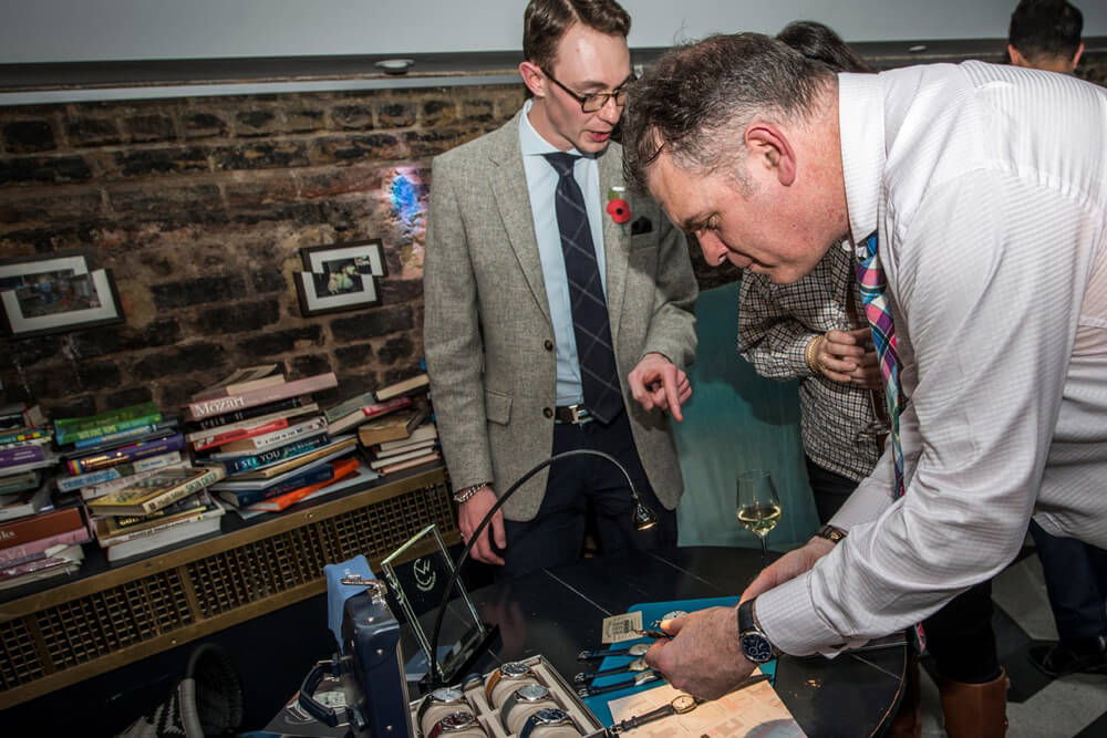 The Night Before 2017 - watchmakers club event for collectors and journalists