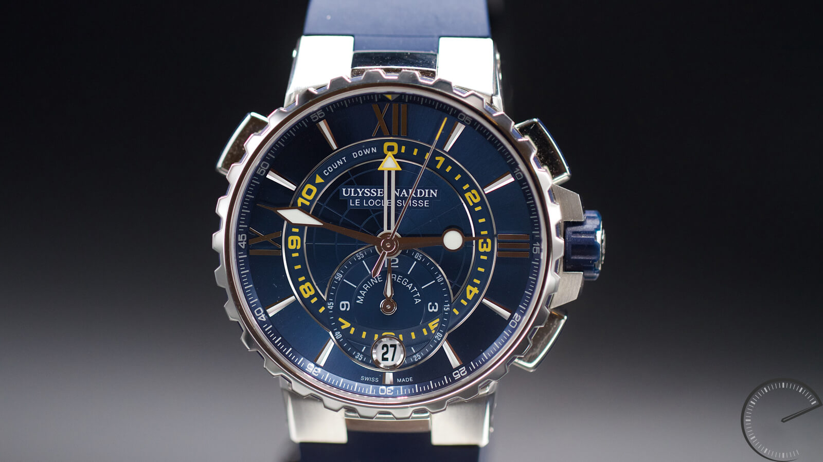 Ulysse Nardin Marine Regatta - chronograph with countdown function