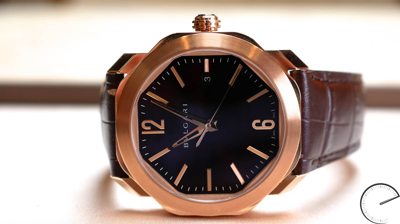 Bulgari Octo Roma - automatic watch with 58-facet case
