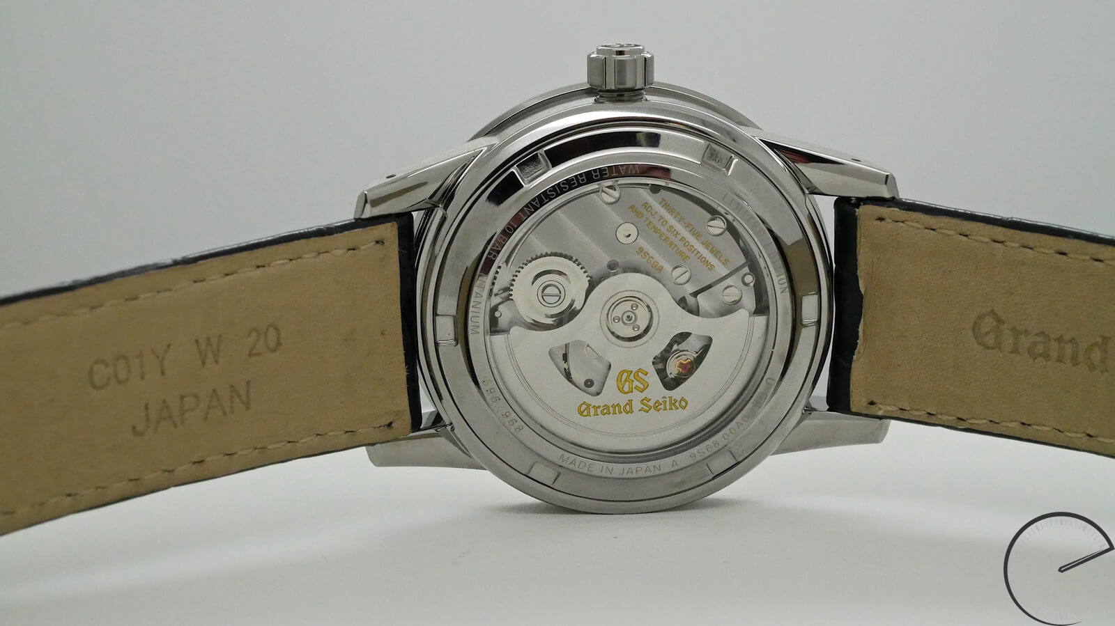 Grand Seiko SBGR305 - automatic watch with 8 beat movement