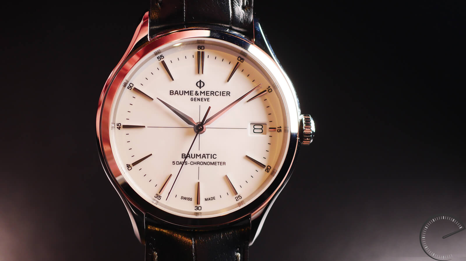 Baume & Mercier Clifton Baumatic MOA 10436 - COSC certified chronometer with silicon escapement