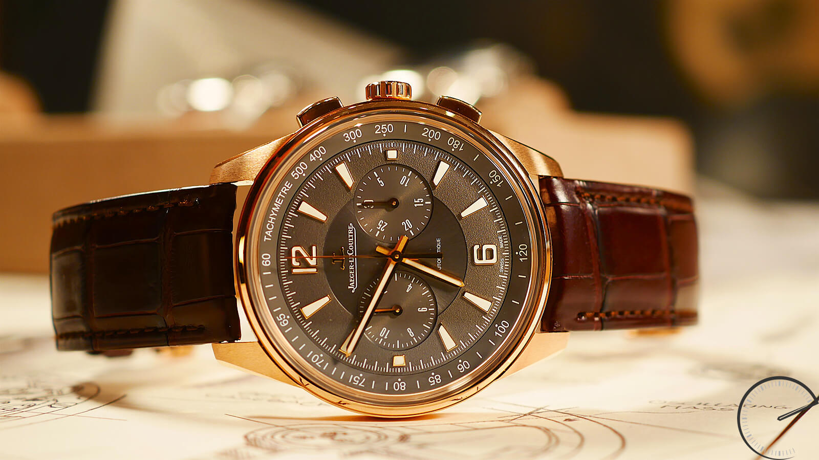Jaeger_LeCoultre Polaris Chronograph in Rose Gold - column wheel chronograph and novelty at SIHH 2018