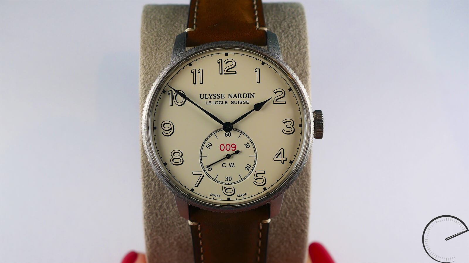 Ulysse Nardin Marine Torpilleur Military - chronometer (COSC) with movement featuring silicon hairspring