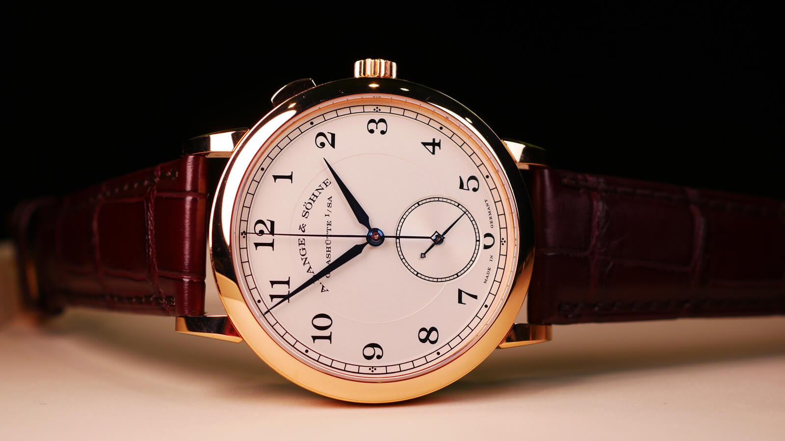 A. Lange & Söhne 1815 'Homage to Walter Lange' - stoppable jumping seconds