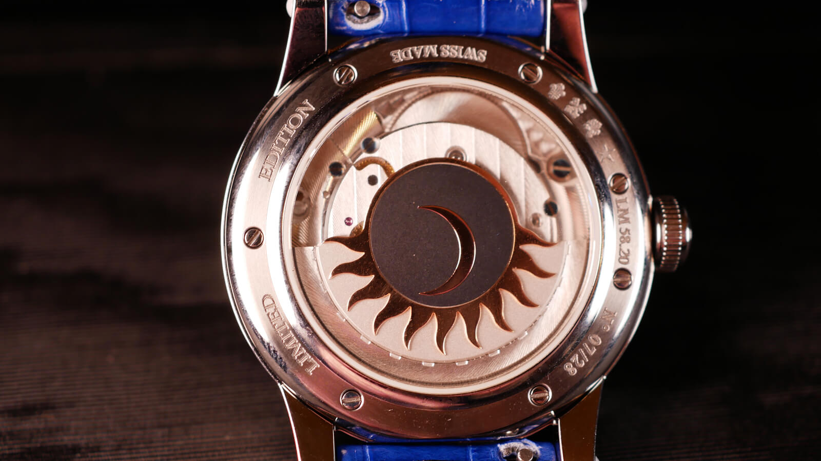 Louis Moinet Skydance - ladies' watch with automatic movement