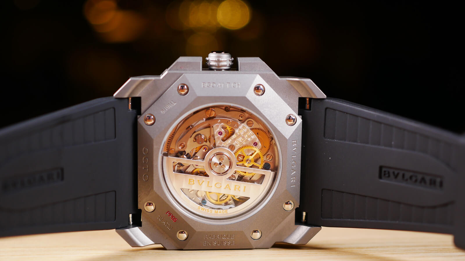 Bulgari Octo L'Originale Chronograph with column-wheel chronograph movement and silicon escapement