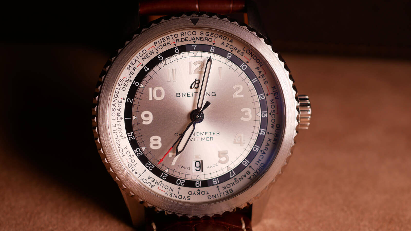 Interview with Guy Bove, Creative Director, Breitling
