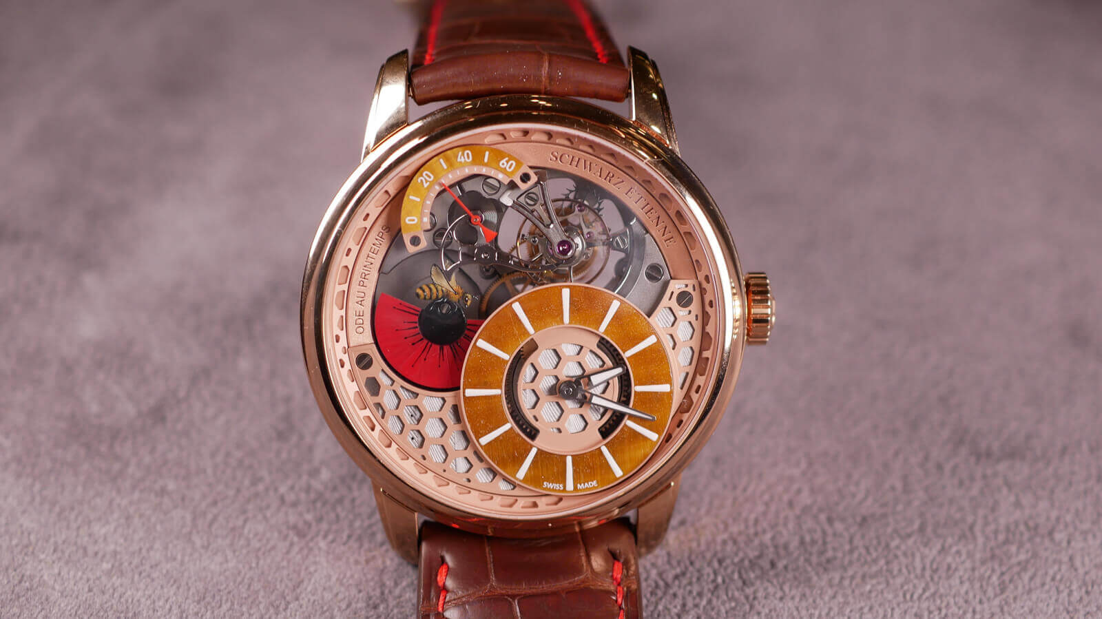 Schwarz Etienne Ode au Printemps | ESCAPEMENT MAGAZINE REVIEWS