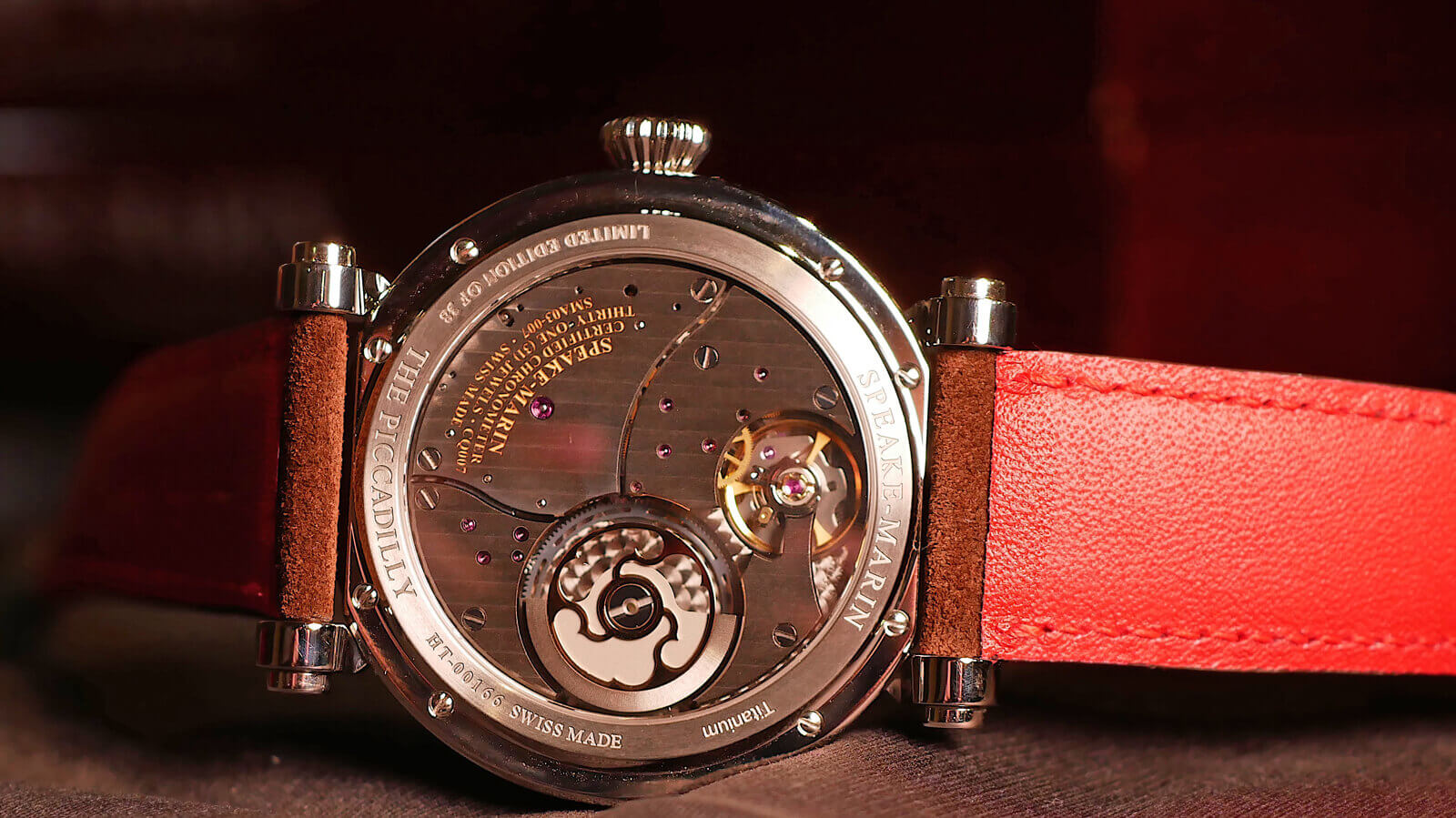 Speake-Marin One & Two Academic - off-centre seconds with in-house movement featuring micro-rotor
