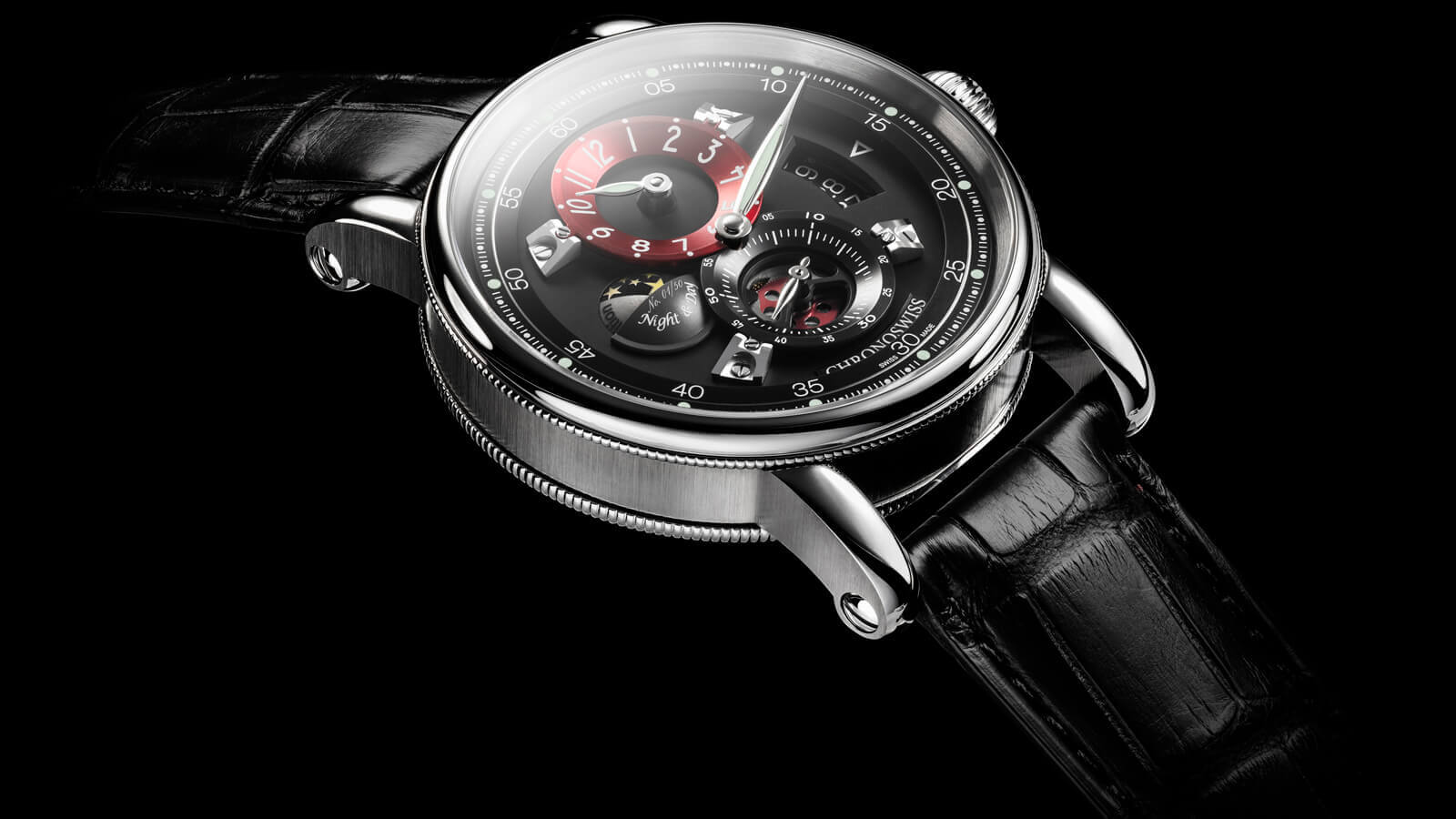 Chronoswiss Flying Regulator Night and Day - 35th anniversary watch - limited edition