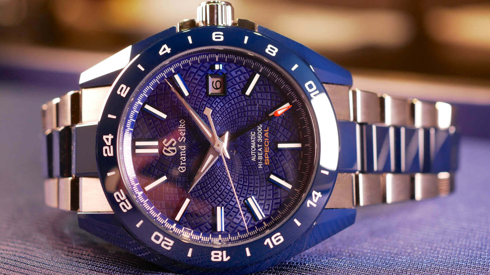 Grand Seiko Blue Ceramic Hi-beat GMT Special Limited Edition