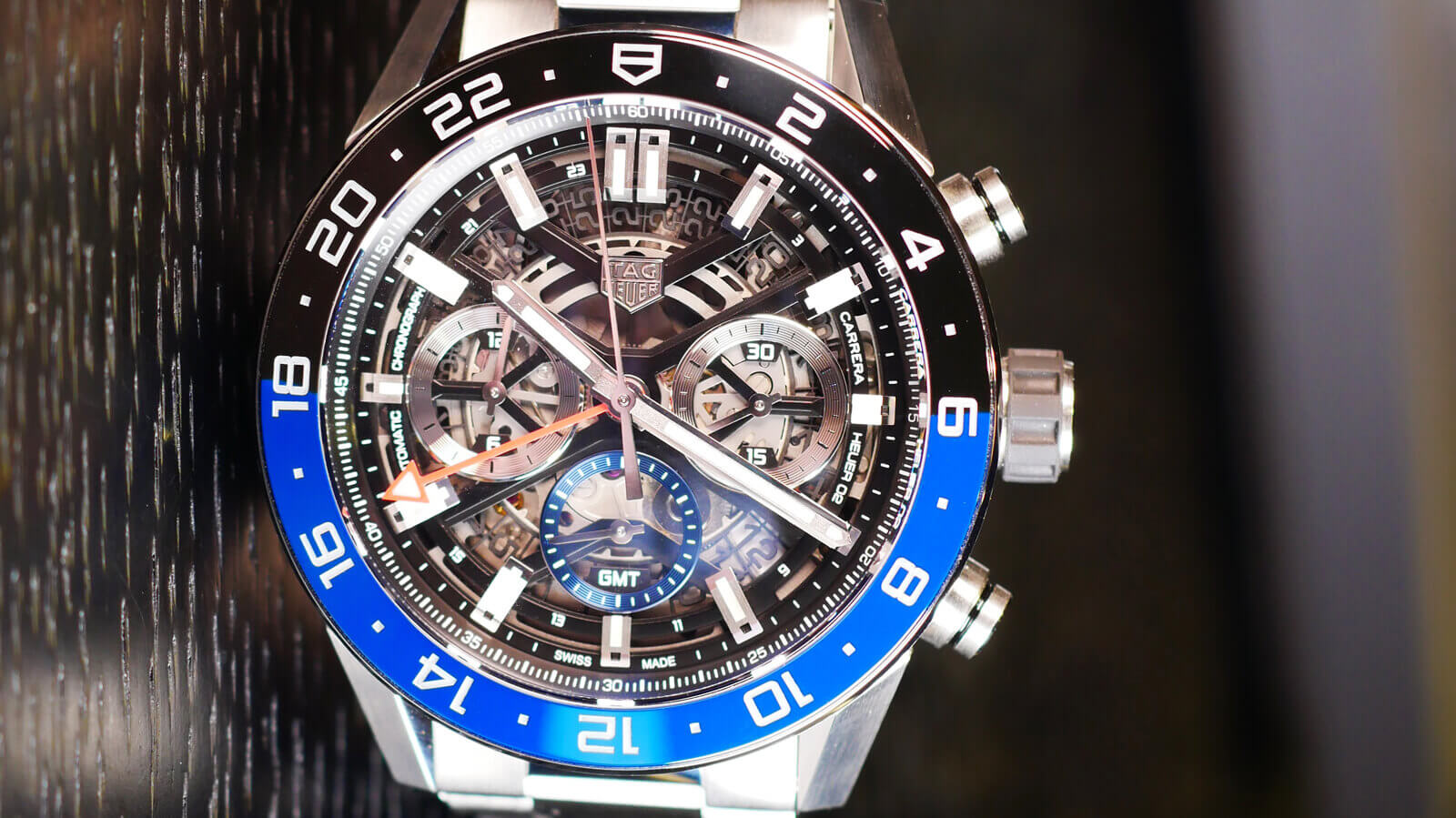 TAG Heuer Carrera Chronograph GMT