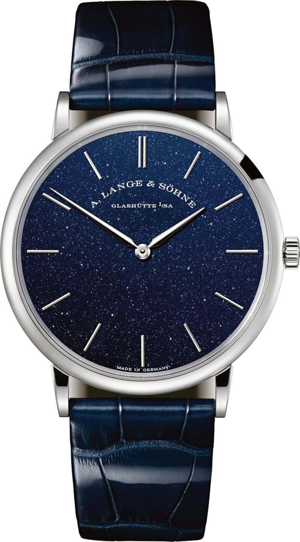A. Lange & Sohne Saxonia Thin in copper blue