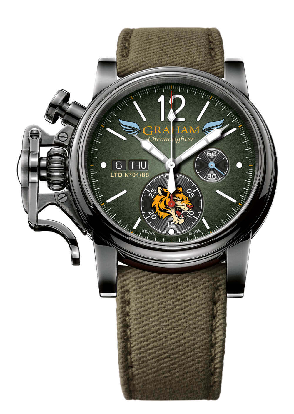 Graham Chronofighter Vintage Aircraft Flying Tigers