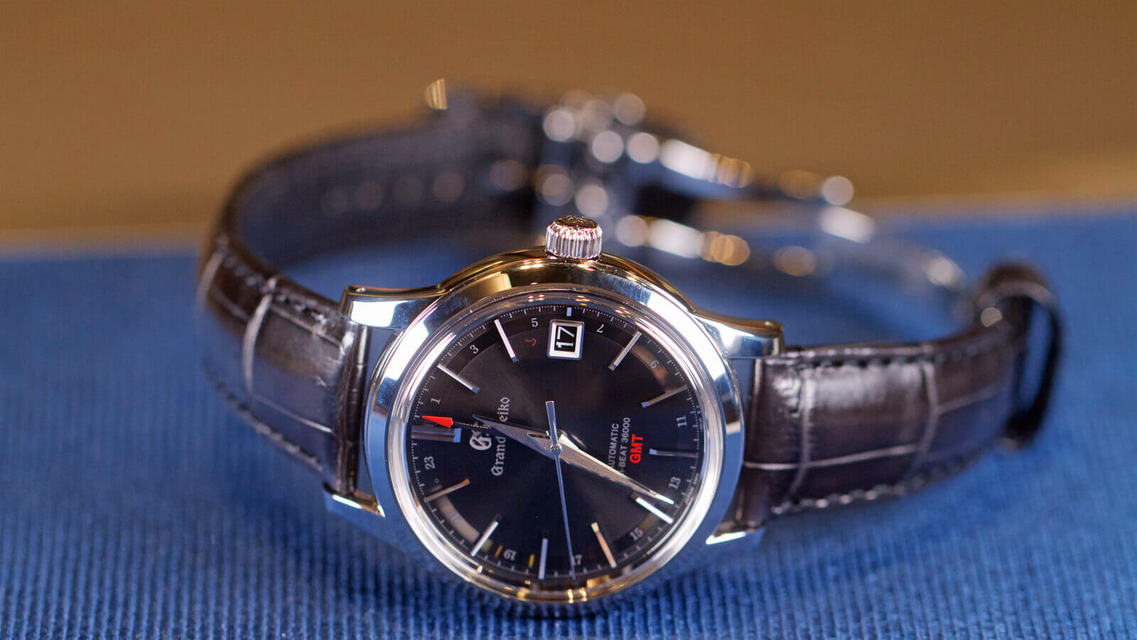 Grand Seiko Hi-Beat 36000 GMT SBGJ219G