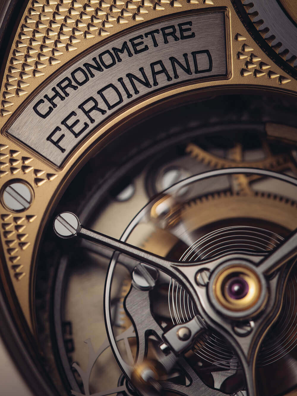 Ferdinand Berthoud Chronomètre Oeuvre d'Or Collection