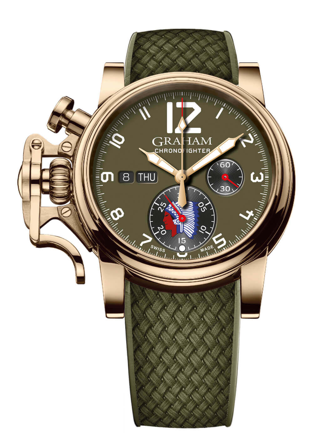 Graham Chronofighter Vintage D-Day