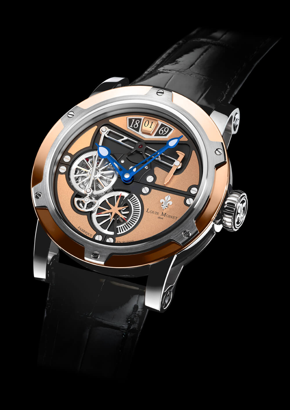 Louis Moinet Transcontinental