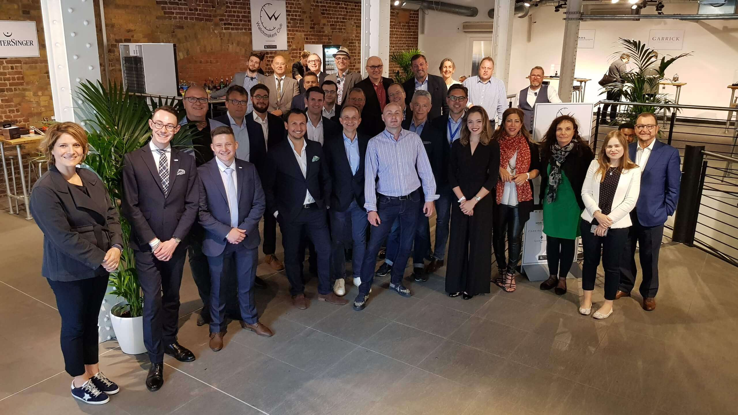 The Watchmakers Club 2019 event in London