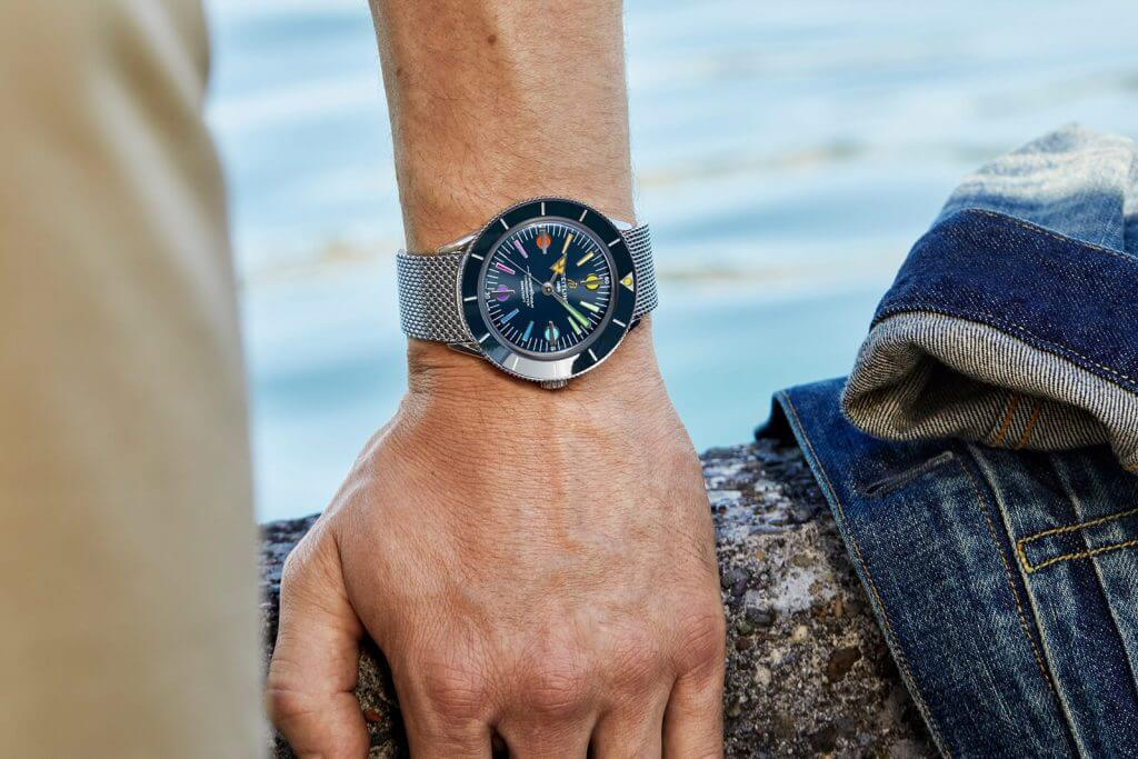 Breitling Superocean Heritage '57 Rainbow Limited Edition II
