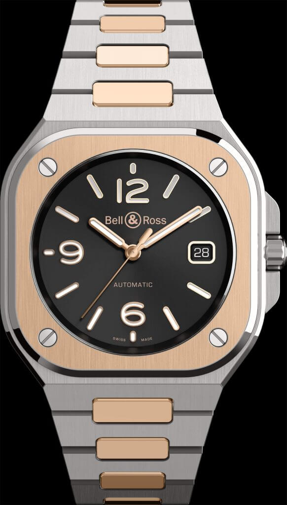 Bell & Ross BR 05 Black Steel & Gold