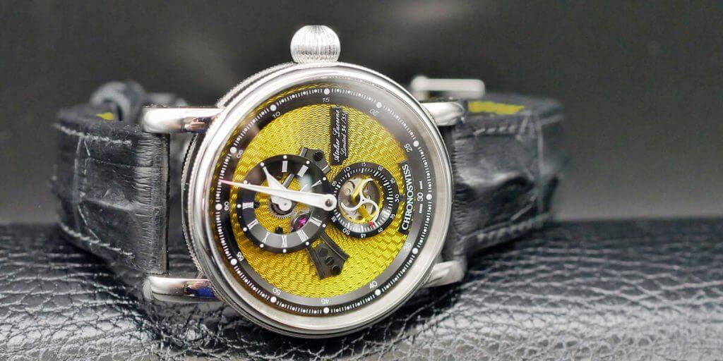 Chronoswiss Flying Regulator Open Gear Yellow Dial