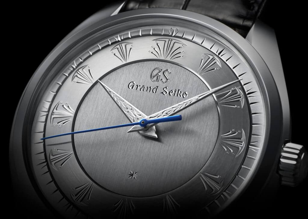 Grand Seiko 60th Anniversary Limited Editions - engraved dials