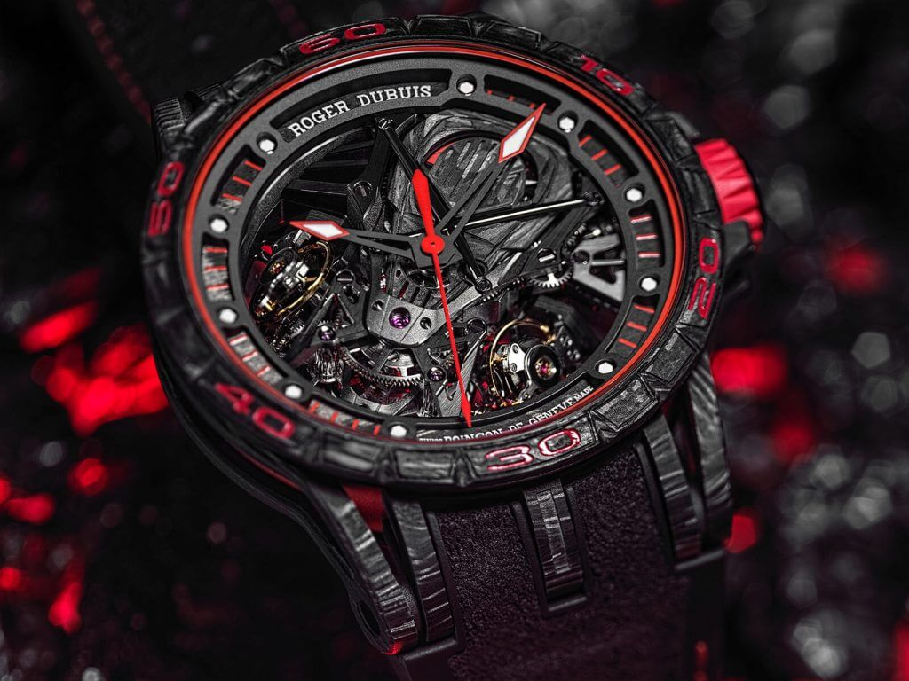 Roger Dubuis Excalibur Spider Aventador S and Excalibur Essenza SCV12
