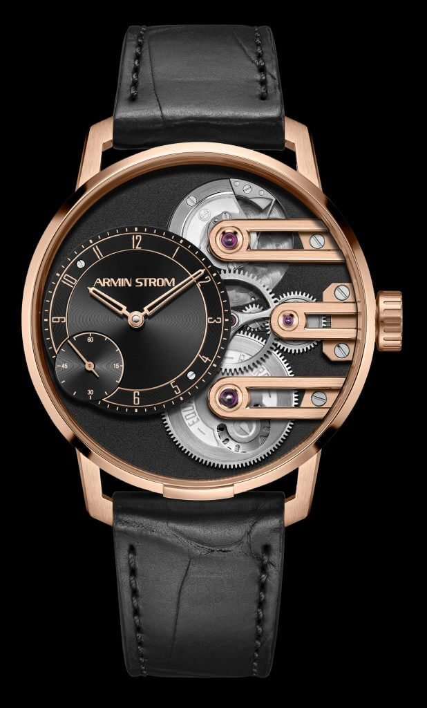 Armin Strom Gravity Equal Force in 18ct rose gold