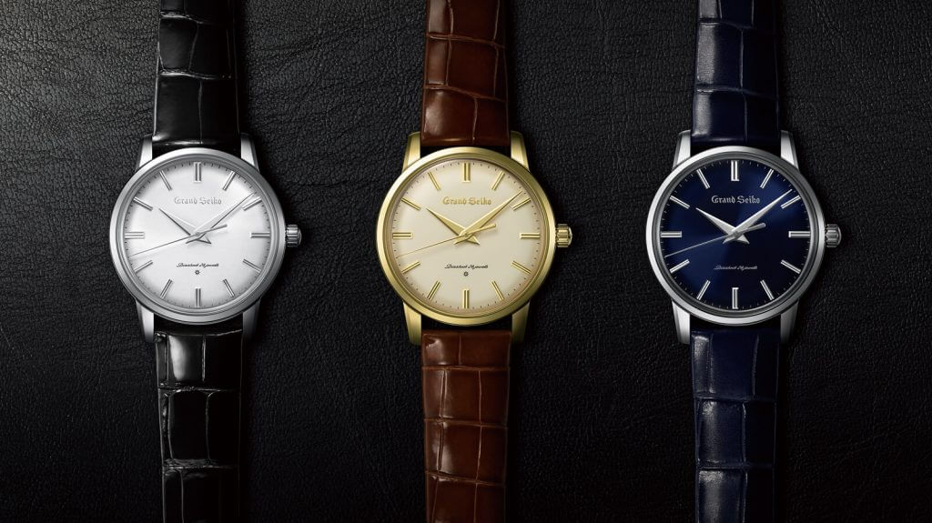 Grand Seiko 60th anniversary re-creation watches
