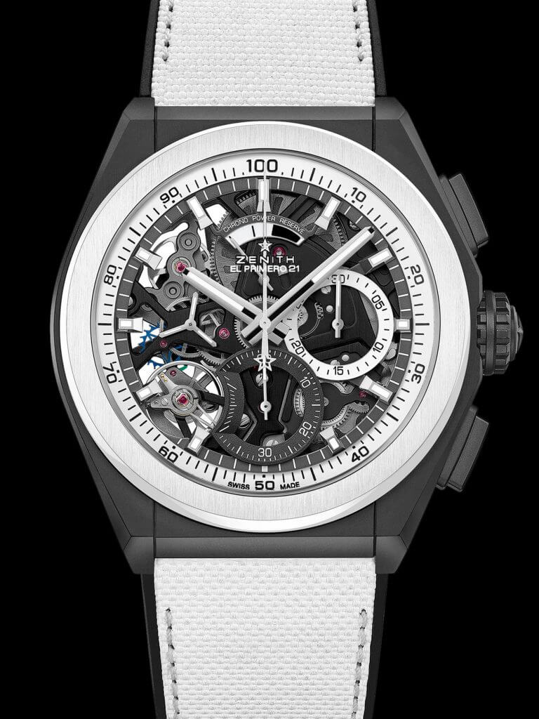 Zenith Defy 21 Black & White and Defy Classic Black & White