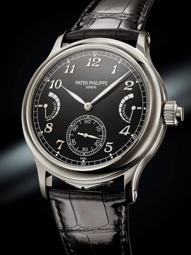 Patek Philippe 6301P Grande and Petite Sonnerie and Minute Repeater