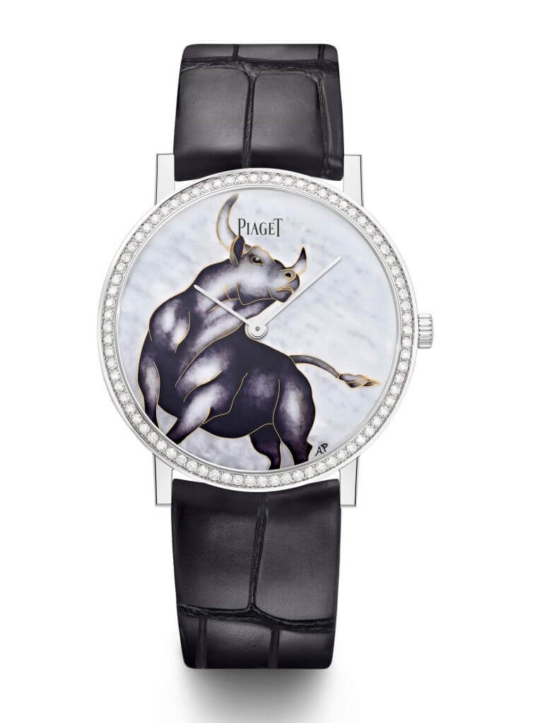 Piaget celebrates Chinese New Year and the Year of the Ox