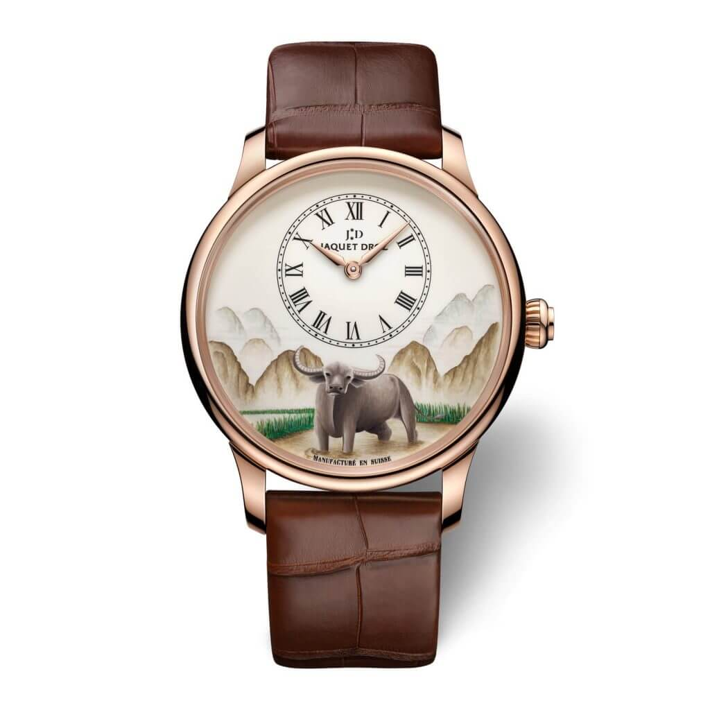 Jaquet Droz Chinese zodiac sign of the Ox